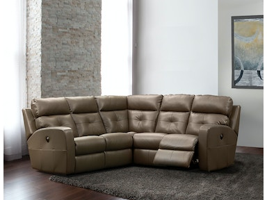 Elran Sectional-Power