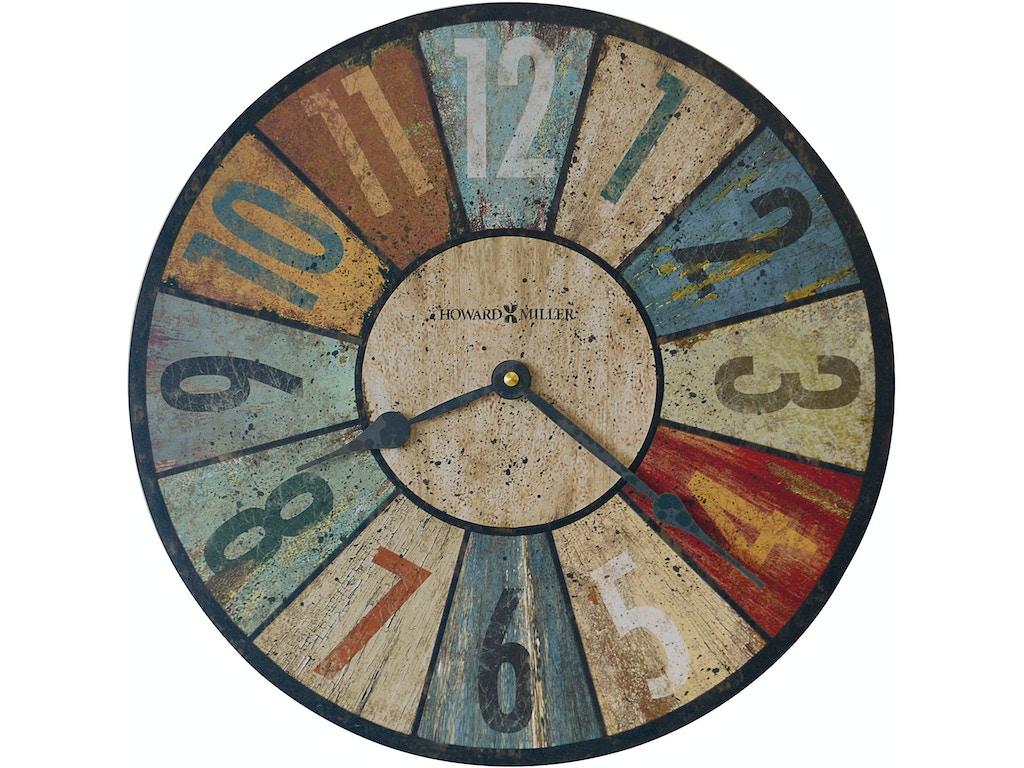 Howard Miller Accessories Sylvan Wall Clock 620503 Schmitt