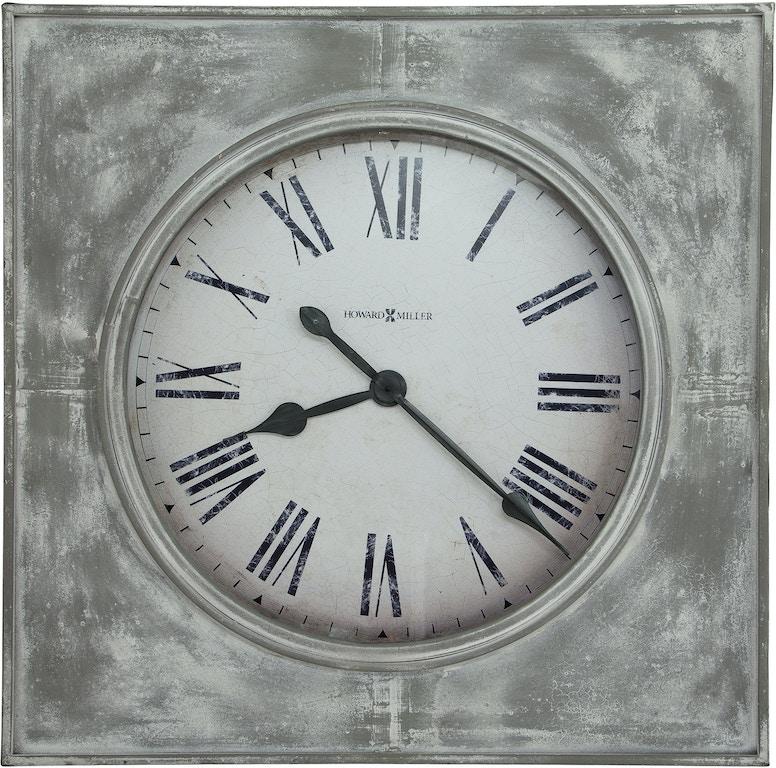 Howard Miller Accessories Bathazaar Wall Clock 625622 Mclaughlins