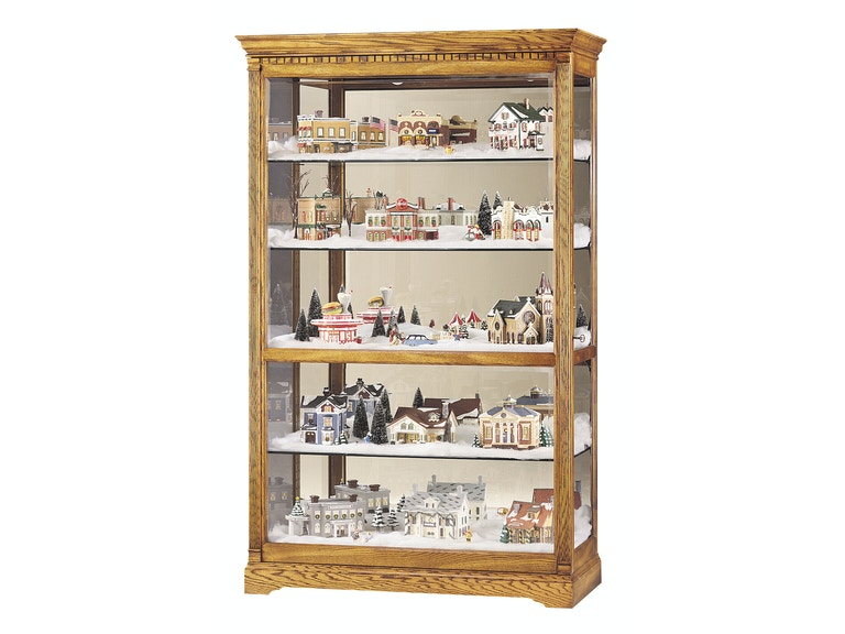 Howard Miller Living Room Parkview Curio Cabinet 680237