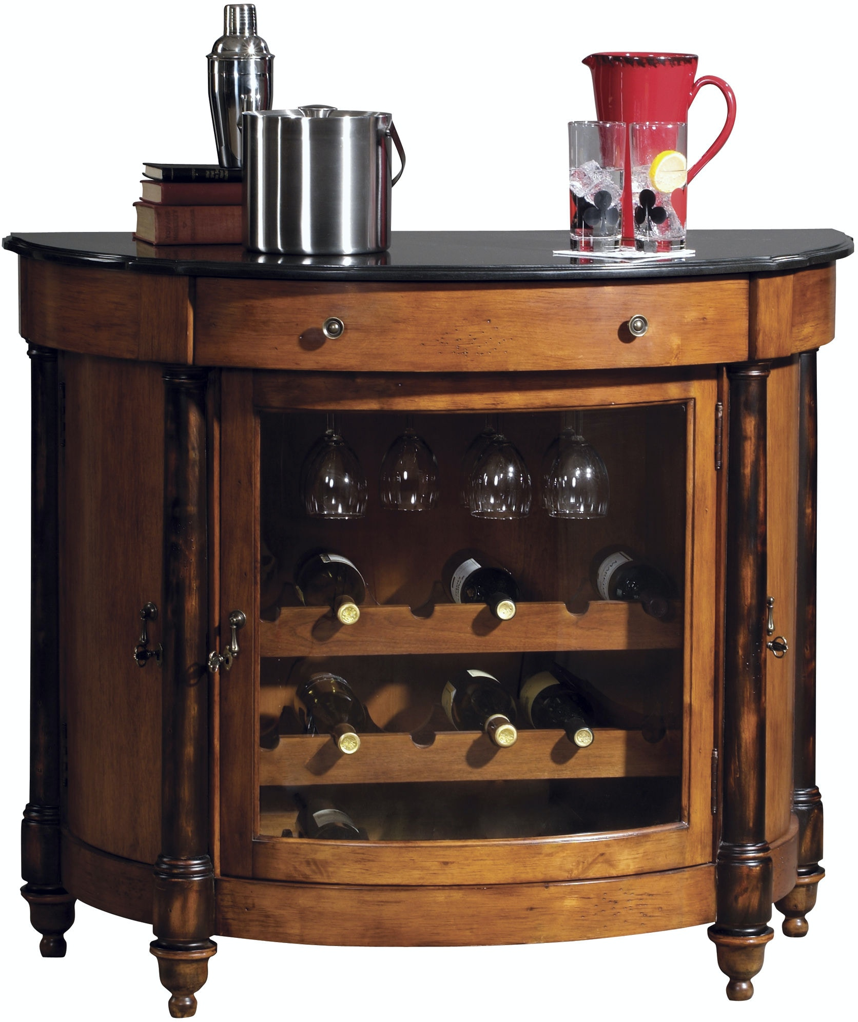 Howard Miller Bar And Game Room Merlot Valley Wine Cabinet