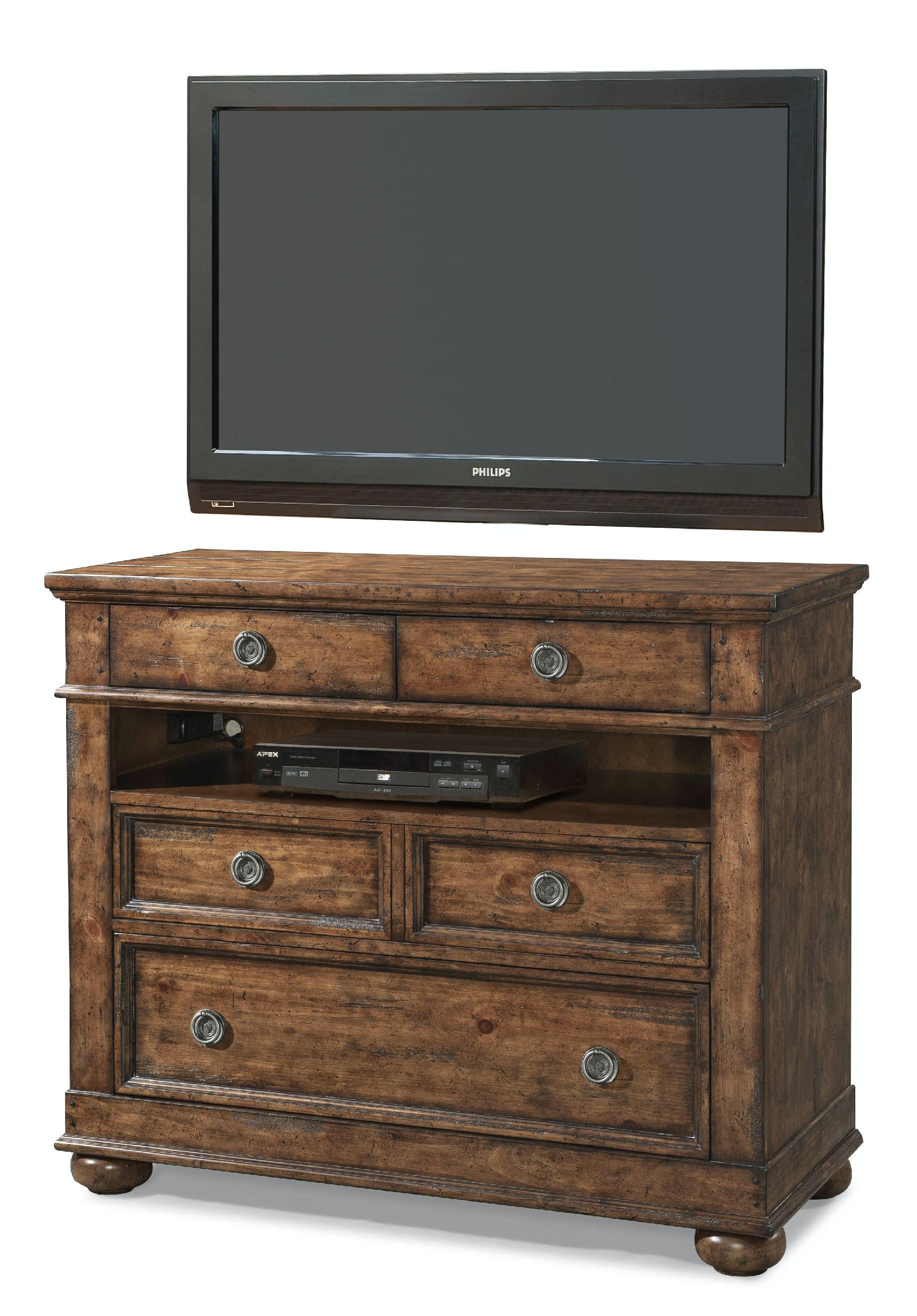 Carolina Preserves Bedroom Media Chest 436 682 MCHES Klaussner Carolina Pr