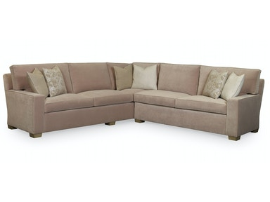 EJ Victor Michigan Avenue Sectional (Two & Three Seat Sofas w/Built-In Corner) 2622-Sectional