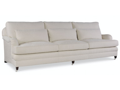 EJ Victor Living Room Exeter Sofa (Exposed Leg with Casters Version)