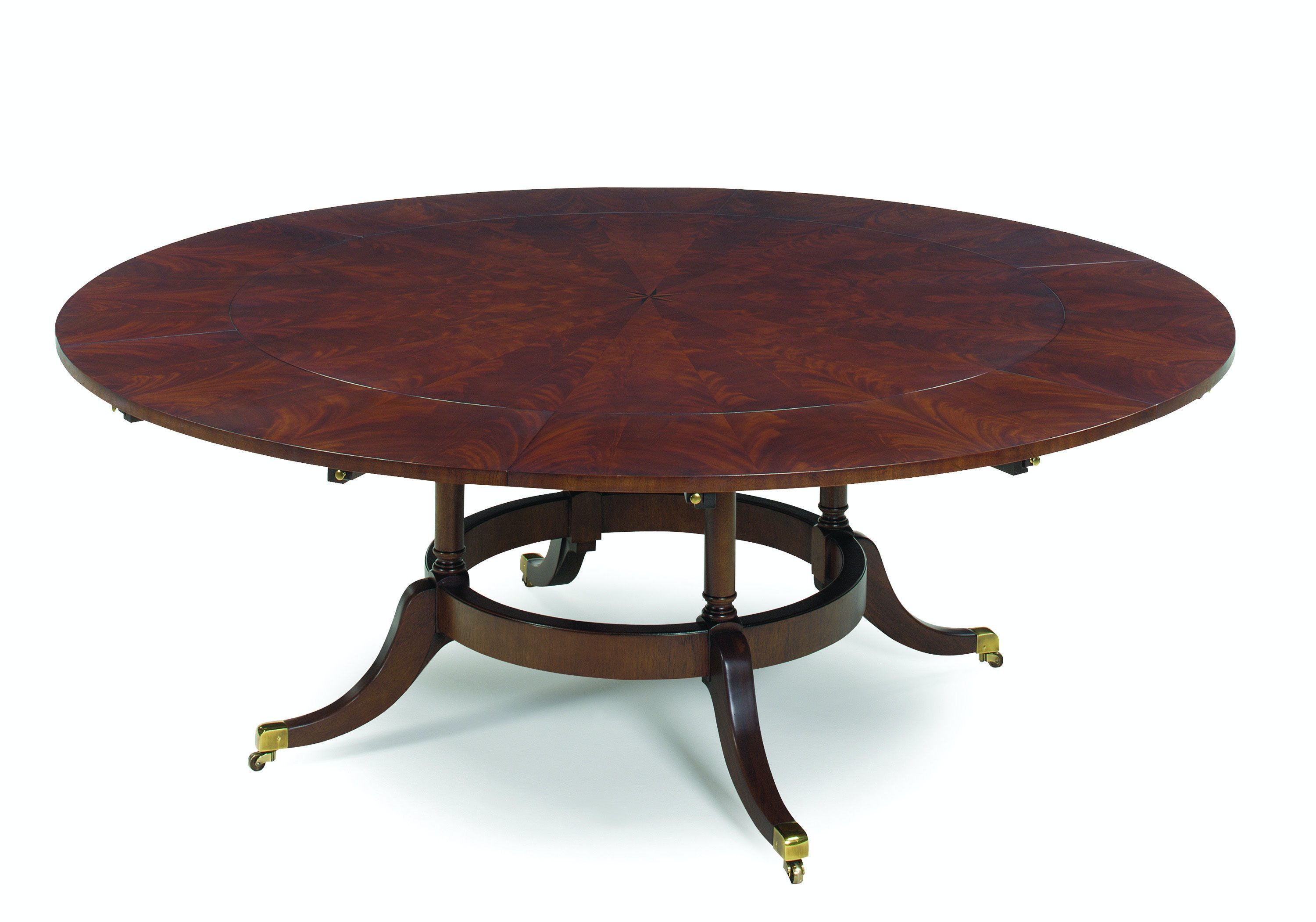 EJ Victor Dining Room 60 Round Dining Table with Six