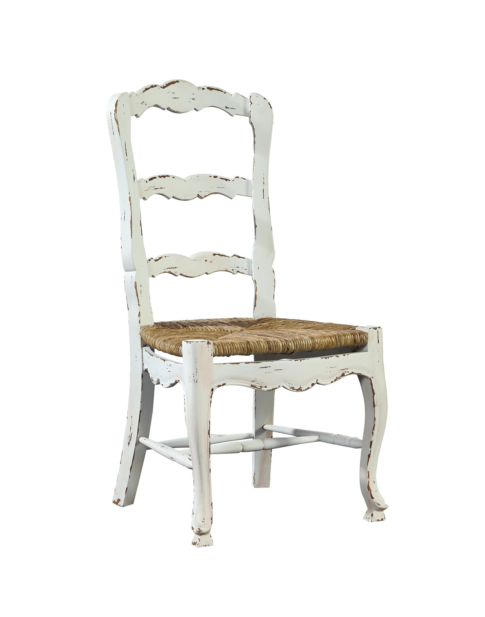Gentil Furniture Classics French Ladderback Side Chair 1144AG6