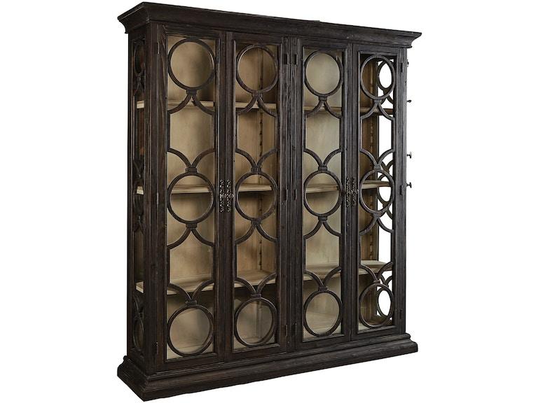 Furniture Classics Living Room Black Caspian Double Cabinet 40-89 ...