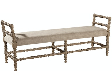 Furniture Classics Martini Turned Leg Bench 51117FA
