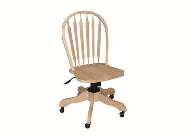 John Thomas Windsor Arrowback Desk Chair 113D