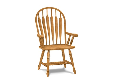 John Thomas Deluxe Steambent Windsor Arm (wood seat only) 1206A