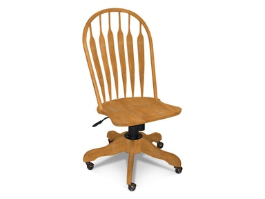 John Thomas Deluxe Steambent Windsor Desk Chair 1206D