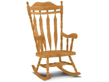 John Thomas Deluxe Carved Back Rocker 3175