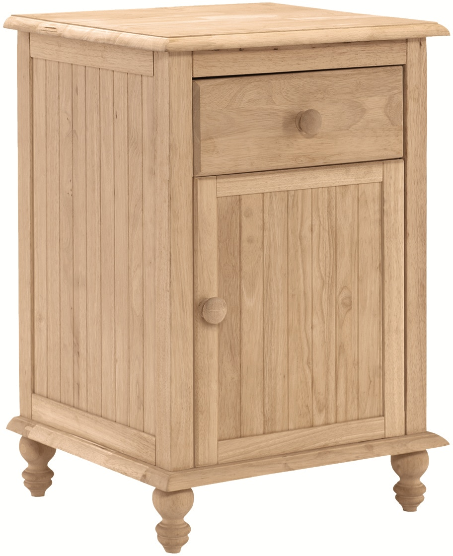 John Thomas Bedroom Cottage 1 Drawer Nightstand