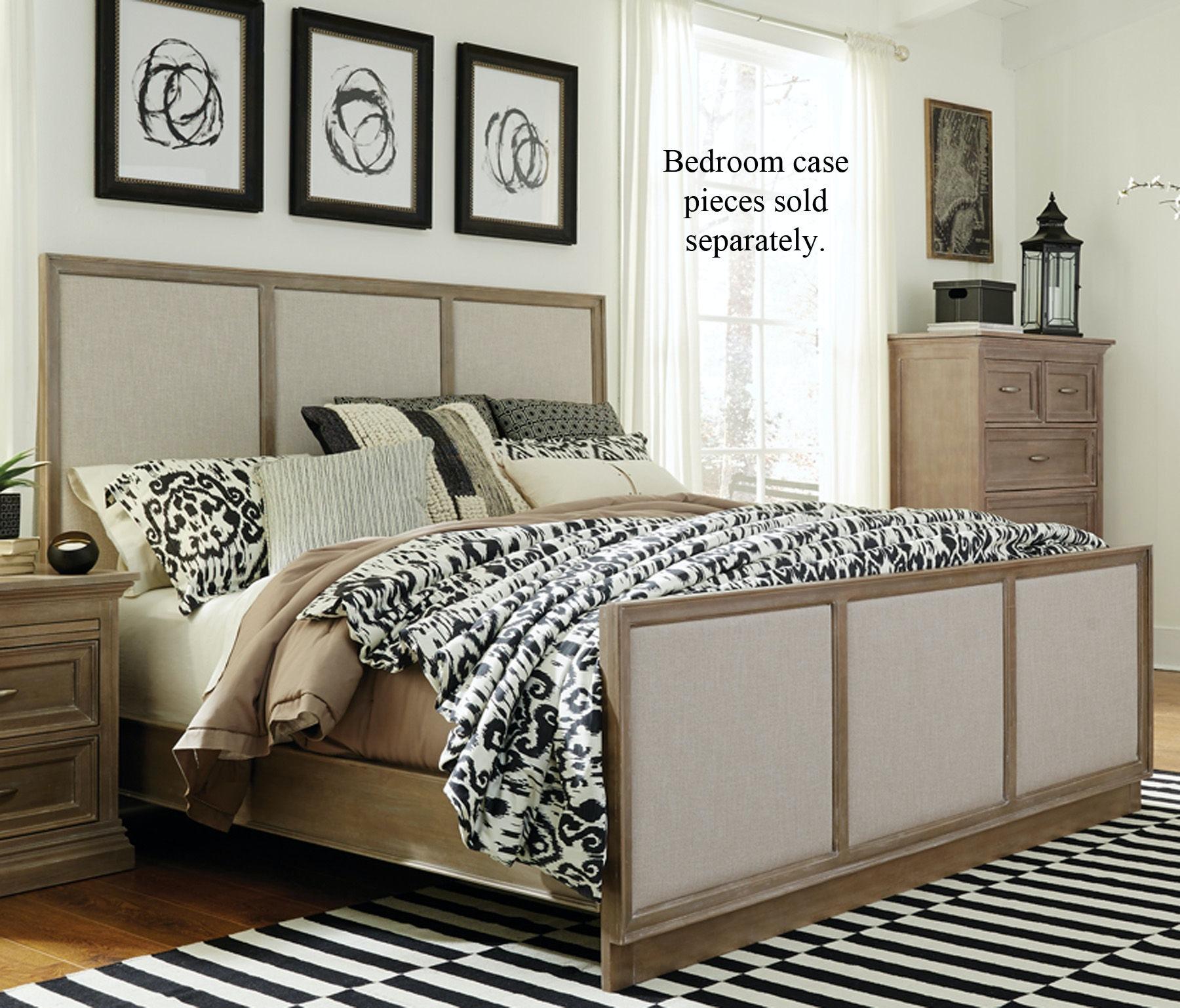 john thomas bedroom king upholstered bed in taupe gray bd09 301kh rh ncfurniture com