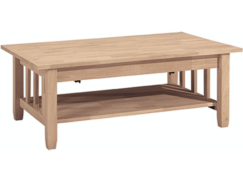 John Thomas Living Room Mission Lift Top Coffee Table Bj6tcl Kaplans Furniture Elyria Oh