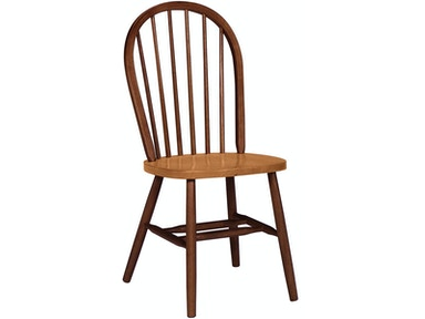 John Thomas Windsor Chair in Cinnamon & Espresso C58-112