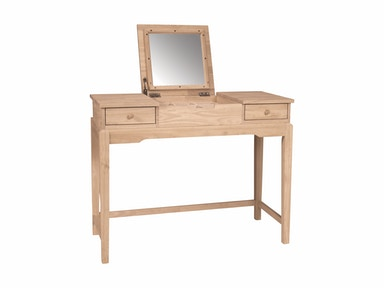 John Thomas Vanity w/ flip up mirror DT-2
