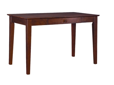 John Thomas Writing Table w/ Drawer in Espresso OF581-41