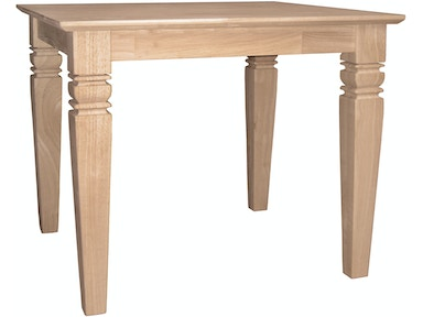 John Thomas Living Room Java End Table