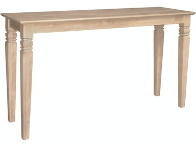 John Thomas Living Room Java Sofa Table