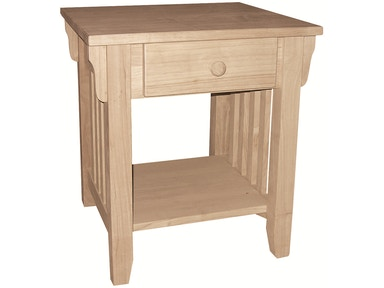John Thomas Living Room Mission End Table