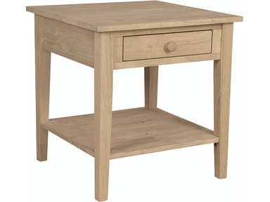 John Thomas Living Room Spencer End Table