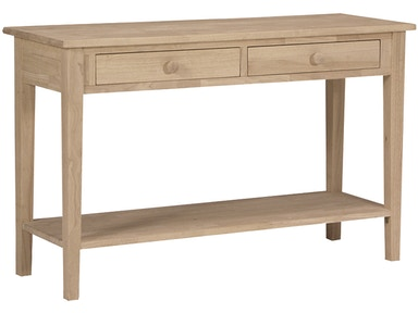 John Thomas Living Room Spencer Sofa Table