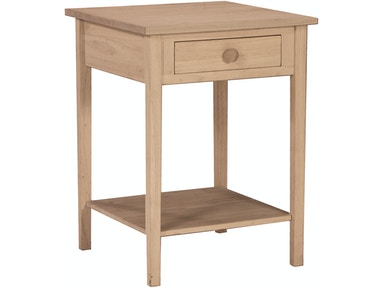 John Thomas Living Room Bedside Table