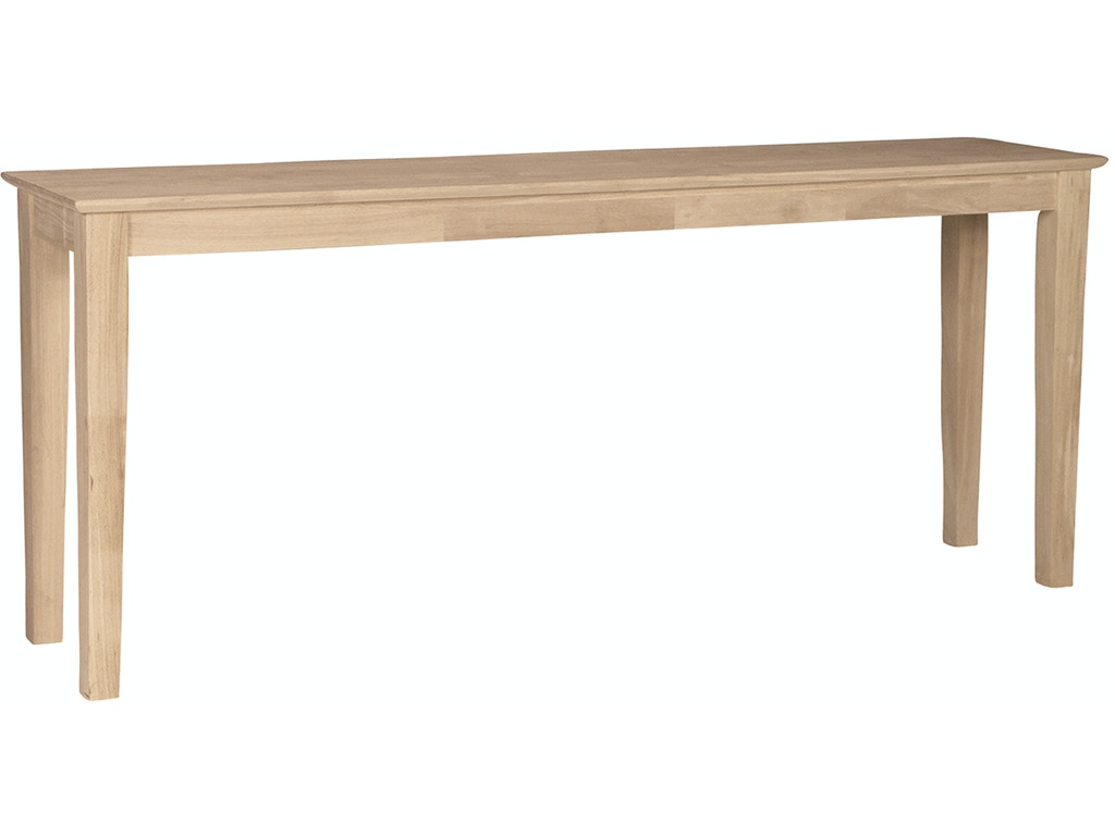 John thomas living room shaker sofa table ot 9s 72 for Sofa table 72
