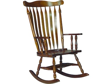 John Thomas Colonial Rocker in Oak R581-120B
