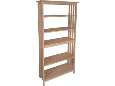 "John Thomas 72""H Mission Bookcase SH-7230M"