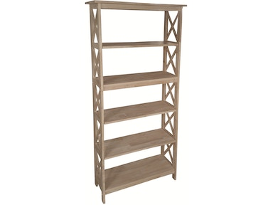"John Thomas 72""H X -Sided Bookcase SH-7230X"