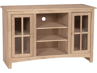 John Thomas Home Entertainment 48'' TV Stand<br><br>Four adjustable shelves