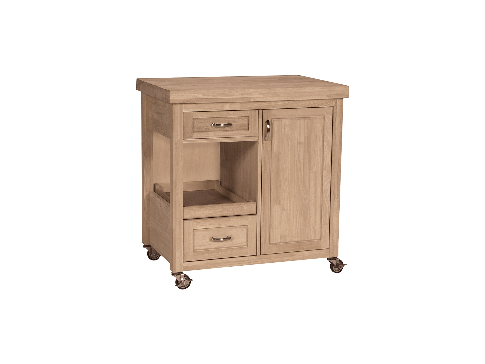 John Thomas Kitchen Castored Kitchen Work Center<br><br>One pull out shelf