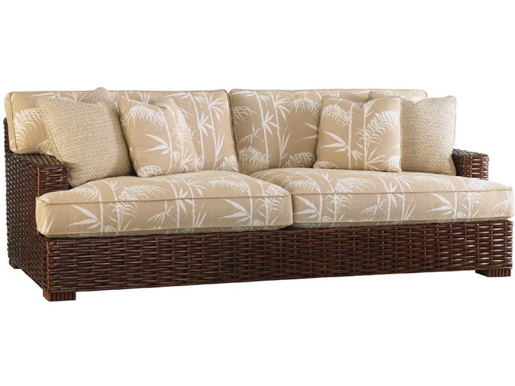 Tommy Bahama Home Living Room Salina Sofa 1792-33 - Royal Furniture ...