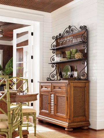 Tommy Bahama Home Dining Room Antigua China Cabinet 531-862-C ...