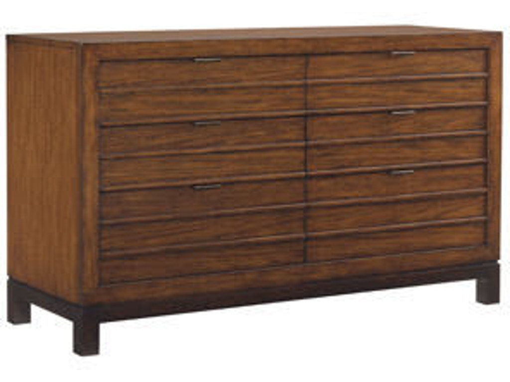 Tommy Bahama Home Bedroom Palm Bay Dresser 536 222 Hickory Furniture Mart Hickory Nc