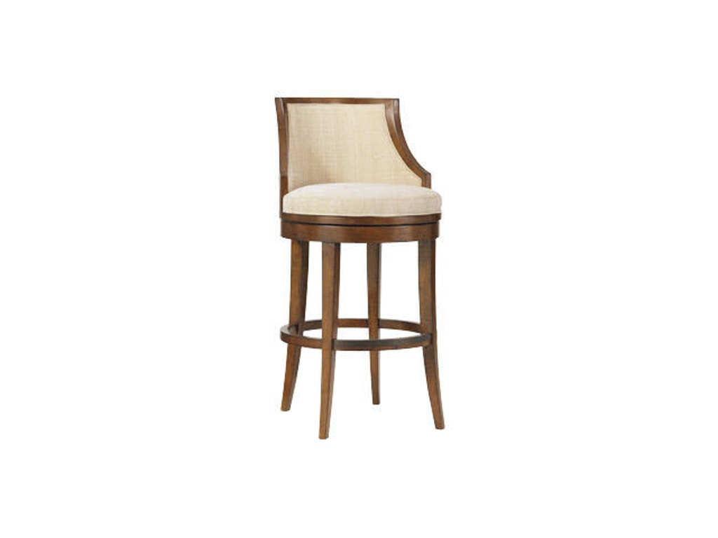 Tommy Bahama Home Bar And Game Room Cabana Swivel Bar Stool 536 816 01 Louis Shanks Austin