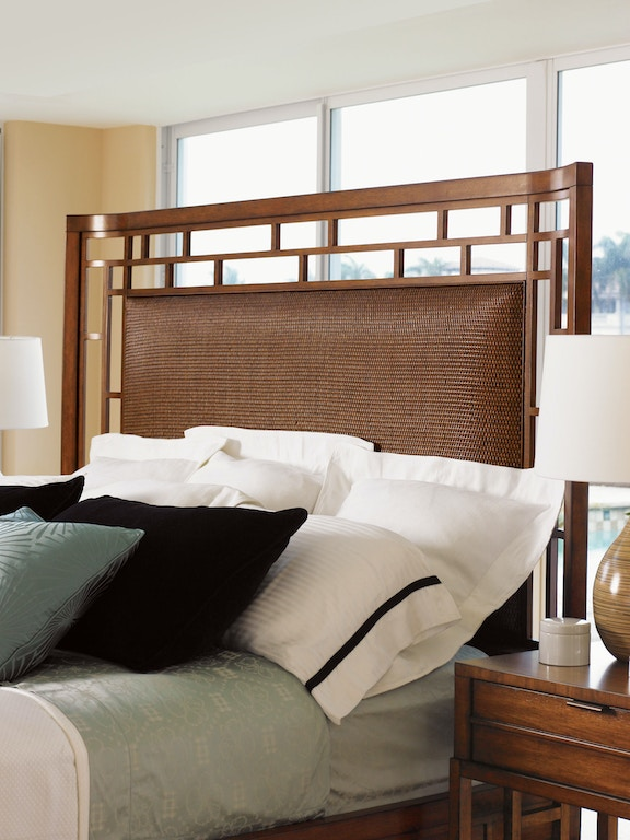 Tommy Bahama Home Bedroom Paradise Point 5 0 Queen Bed 536