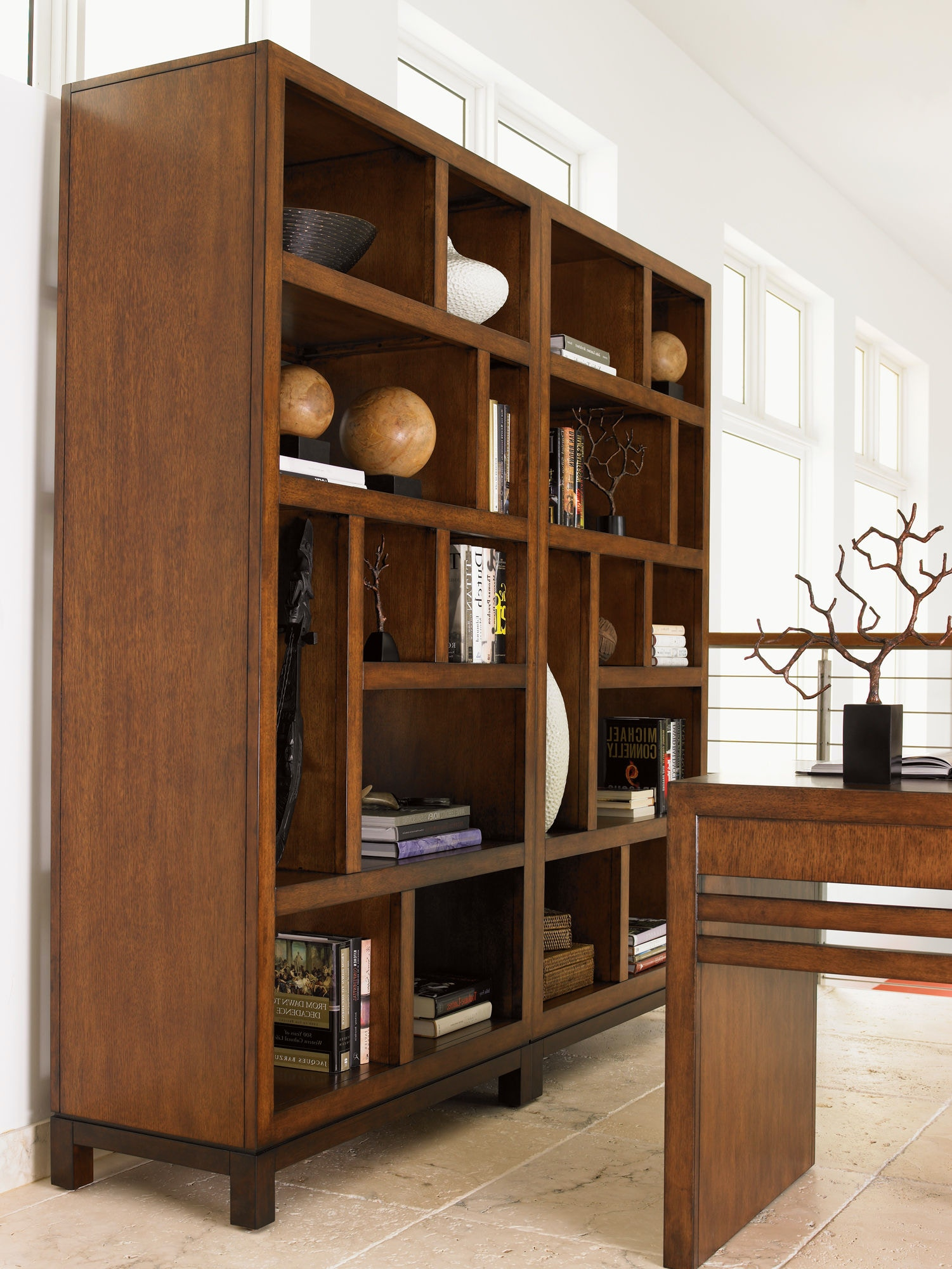 Tommy Bahama Home Home Office Tradewinds Bookcase Etagere
