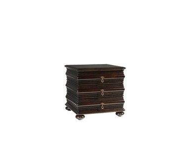 Tommy Bahama Home Black Sands Lamp Table