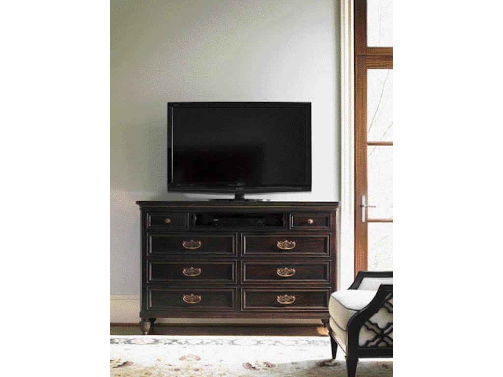 Tommy bahama home bedroom royal suite dresser 537 233 - Bedroom furniture made in north carolina ...
