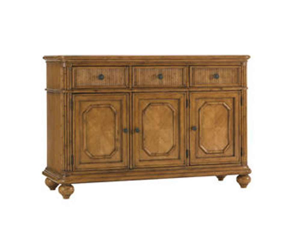 Tommy bahama home dining room siesta key buffet 540 852 royal furniture and design key west for Key largo buffet