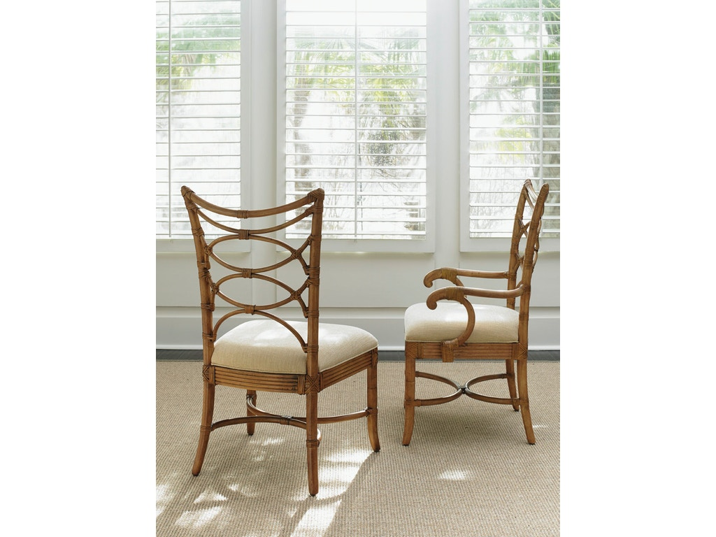 Tommy Bahama Home Dining Room Sanibel Arm Chair 540-881-02 - Royal ...