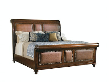 Tommy Bahama Home Palmera 5/0 Queen Sleigh Bed