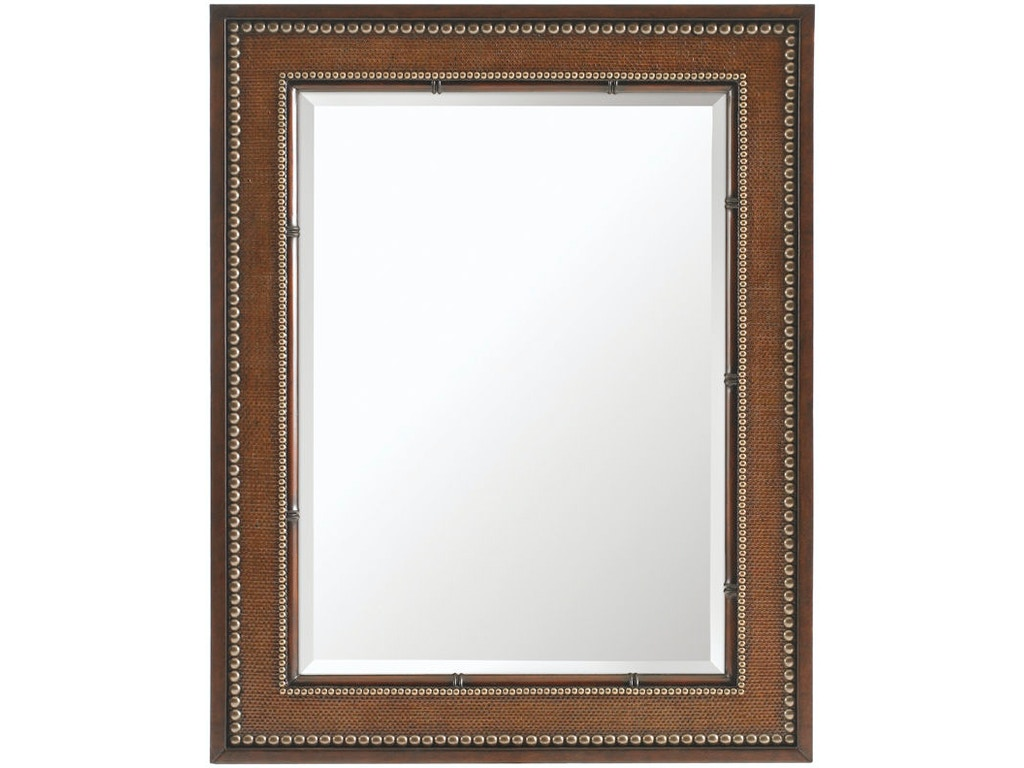 Tommy bahama home accessories barons cove rectangular for Mirror quality