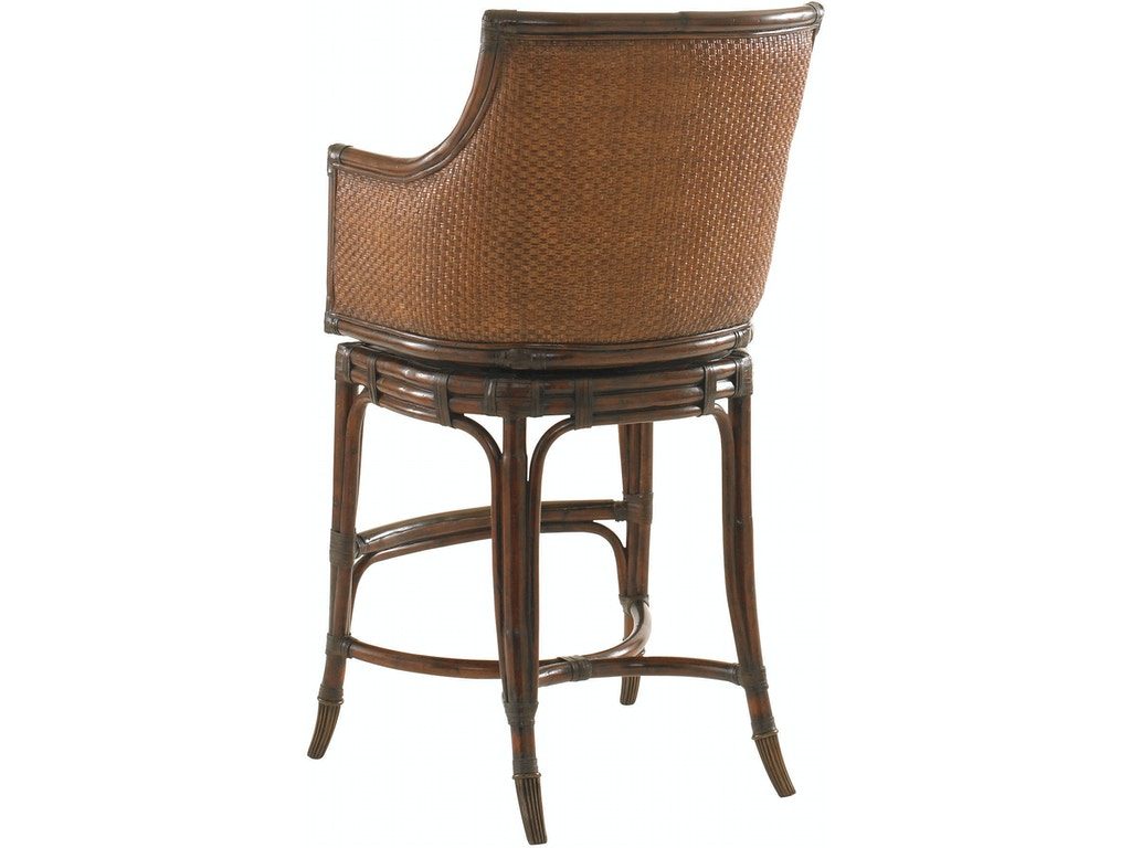Tommy Bahama Home Bar And Game Room Oceana Swivel Bar Stool 545 816 01 Louis Shanks Austin