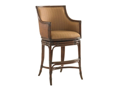 Tommy Bahama Home Oceana Swivel Bar Stool