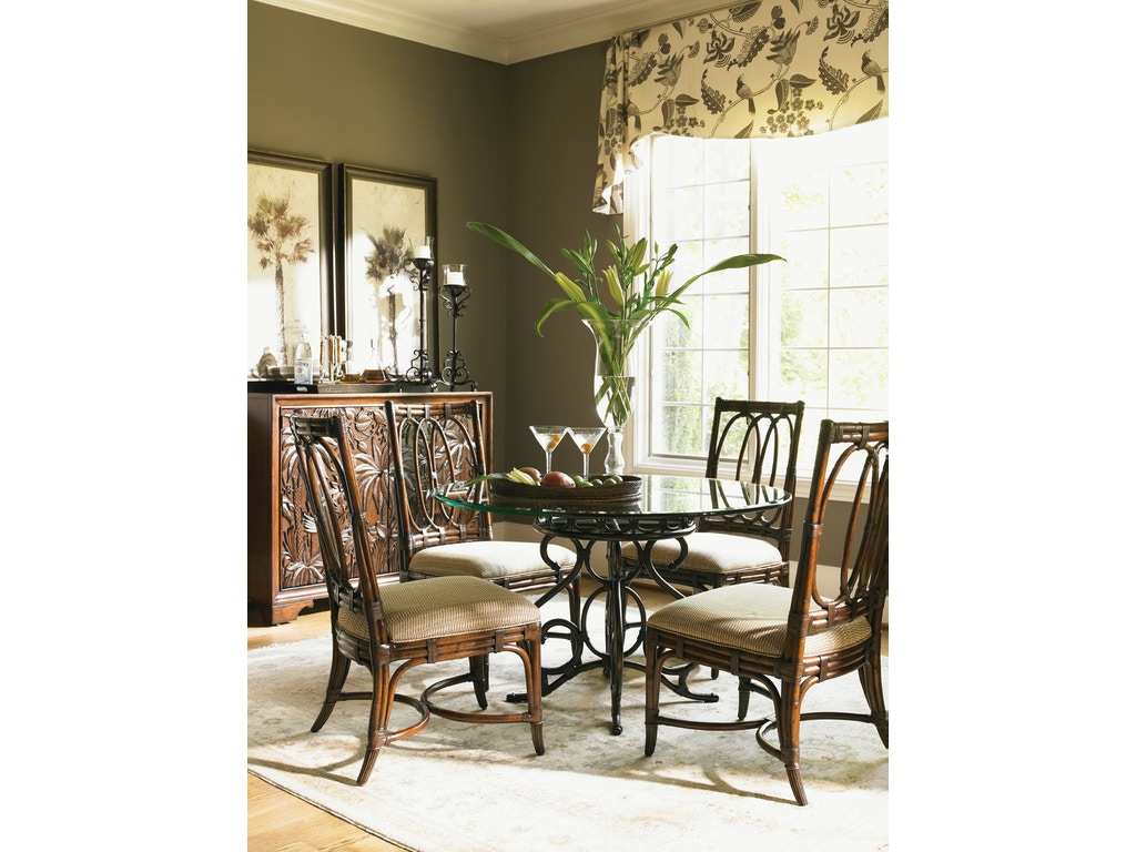 Tommy Bahama Home Dining Room Capistrano Metal Dining Table Base 545 870 We
