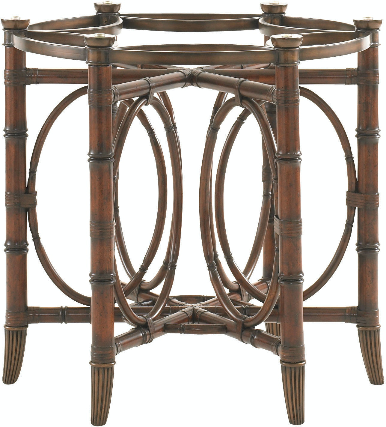 tommy bahama home dining room coral sea rattan dining table base